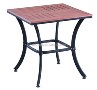 Modern Wholesale Top Quality Plastic Wood Outdoor Teak Table