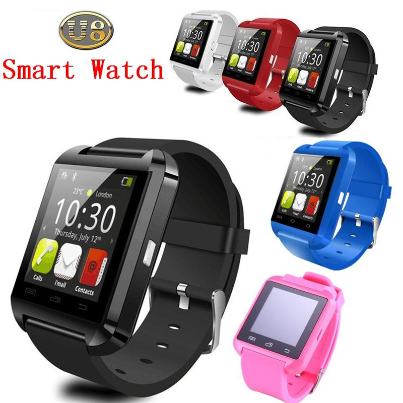 2015 top selling u8 smart watch android clock wrist watch whatsapp watch phone