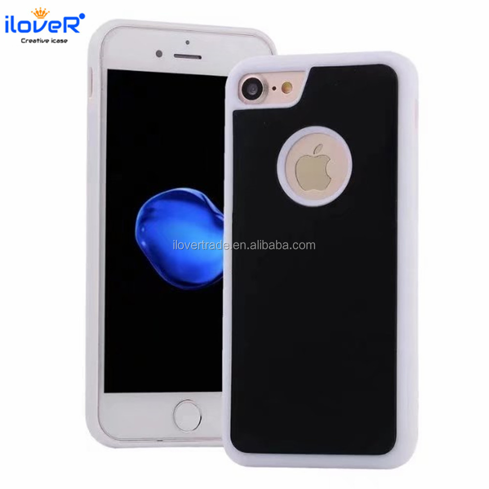 New Anti gravity nano suction mobile phone case for iphone 6 7 8 Plus