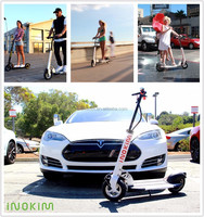 Inokim Two Wheel Electric Scooter, Motor Scooter With Pedal, Pedal Motorcycle
