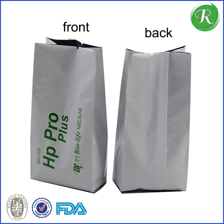 aluminum foil bag for chicken hot food macdonald