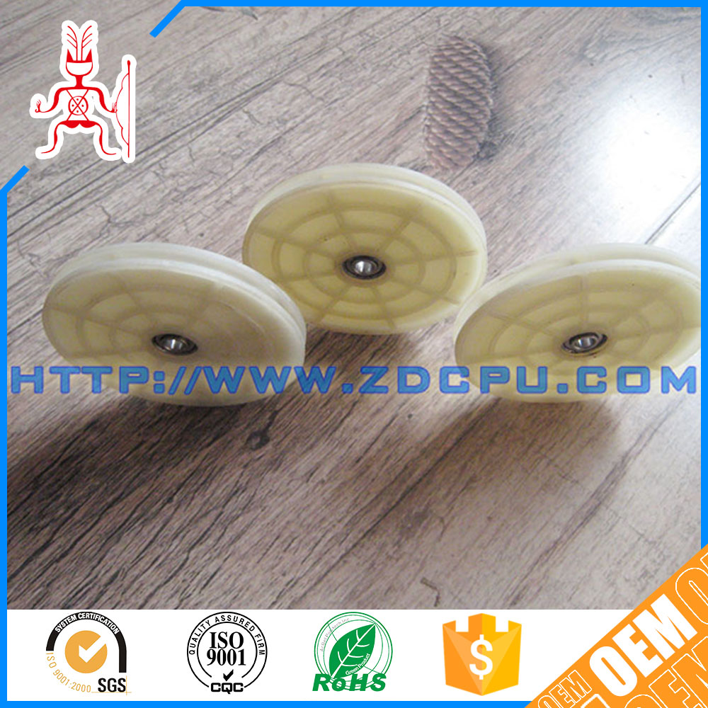 Low price hard practical cheap round belt pulley