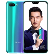 Original Huawei Honor <strong>10</strong> COL-AL10 6GB 64GB Dual AI Rear Cameras Face recognition Infrared Remote 5.84 inch Huawei Phone