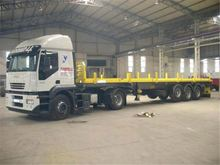 various type semi trailer 2 or 3 axles truck trailer new type single axle semi trailer for sale