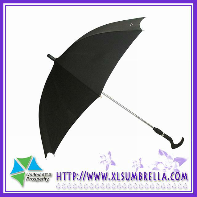 straight cane umbrella