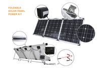 New design 150w Fordable Solar Panel power kit