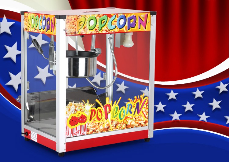 8OZ popcorn machine/equipment of commercial popcorn vending machine/Corn-popping Machine For Cinema Business