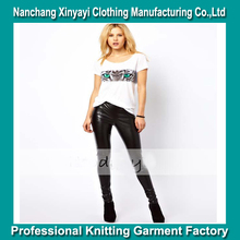 2014 the newest design women t shirt with colour print cute sexy tiger picture direct from manufacturer clothing