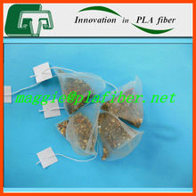 High quality pla mash teabag, biodegradable organic teabag