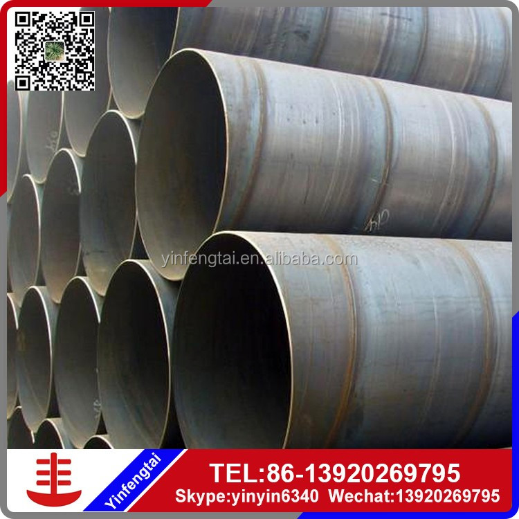 API 5L X70 Oil gas pipeline /spiral welded steel pipe