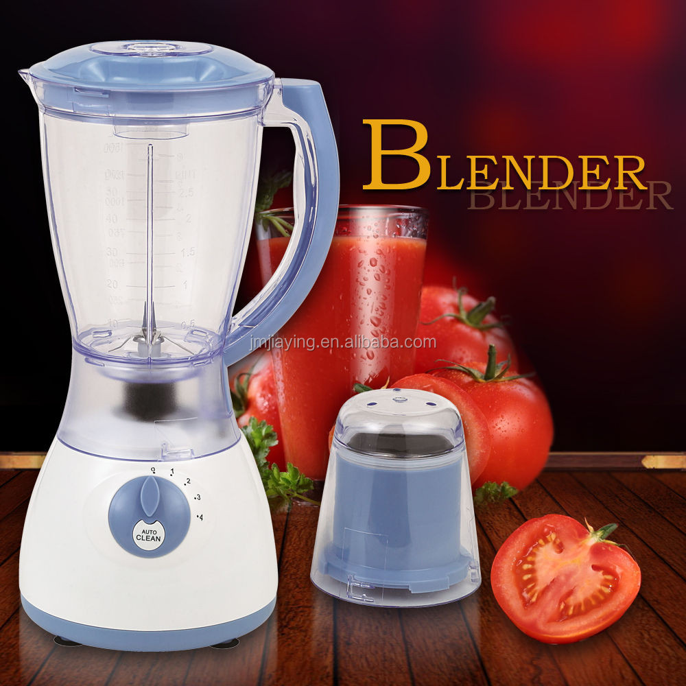 Lowest Price High Quality 2 In 1 1.5L Plastic Jar Electric Blender