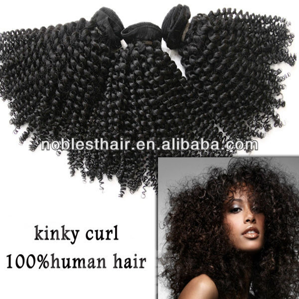 afro kinky human hair wig brazilian hair in natural color