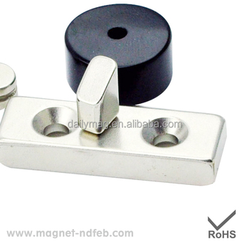 Rare Earth Permanent Block Countersunk Neodymium Magnet