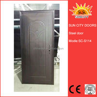 Hot Selling economic design security steel entry door
