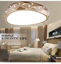 Newest LED ceiling lamp rose gold iron ceiling light HXC2016-650RG
