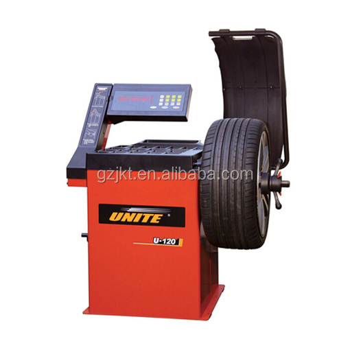 UNITE U-120 Portable auto manual wheel balancer instrumen tire changer and wheel balancer