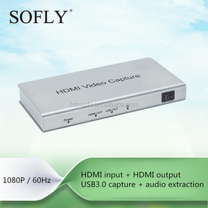 1080P HDMI to usb 3.0 video capture compatible with OBS/Douyu/Taobao game capture recording