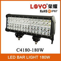 Newest led car light bar 4 rows 9-32v led work light bar 180w led light bar 12v