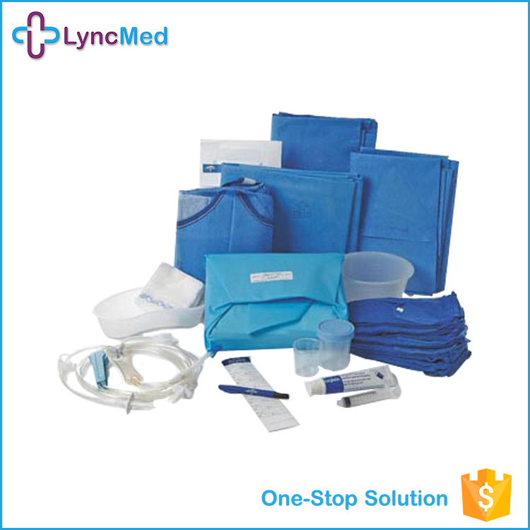 Factory price medical disposable dental surgical gown pack