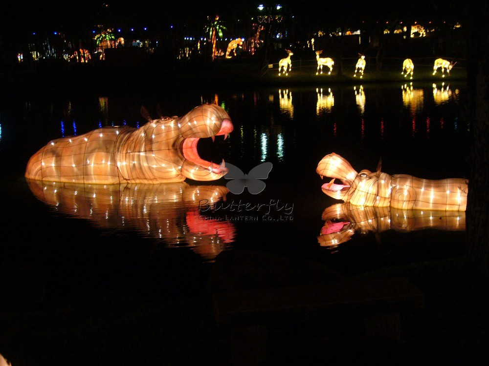 2016 attractive life size animal lanterns for indoor outdoor decoration china lantern festival