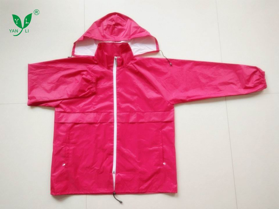 OEM eco -friendly bike rain jacket men