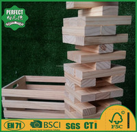 wooden jenga game set giant jenga blocks for garden game