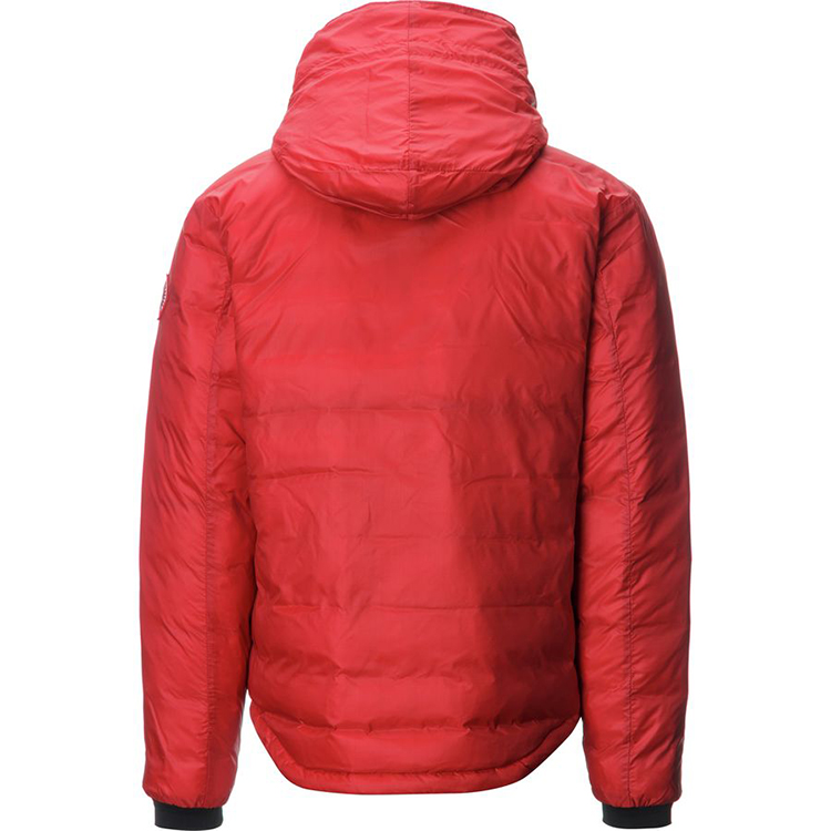 Wholesale winter light weight man short padding jacket