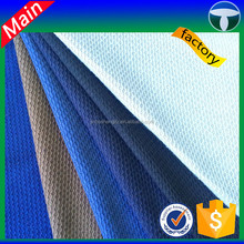 100%polyester coarser knit sweater knitting fabric mesh bird fabric