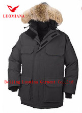 2017 OEM wholesale outwear clothes hood jacket goose canada men winter jacket