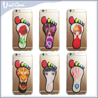 Mobile phone case 3d drawing tpu cover case for iphone 6 , Latest fashion design tpu back cover for iphone 6 case print