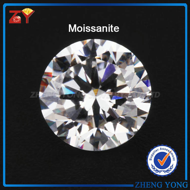 High Quality 1 karat Moissanite Stones China Wholesale Moissanite Prices