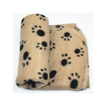 one side plush animal shaped polar fleece pet blanket