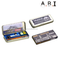 13pcs math Mathematical School Oxford Math Set compass Tin box