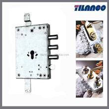 TLJ012 Italy Standard 3 Point Rim Lock For Exterior Security Door
