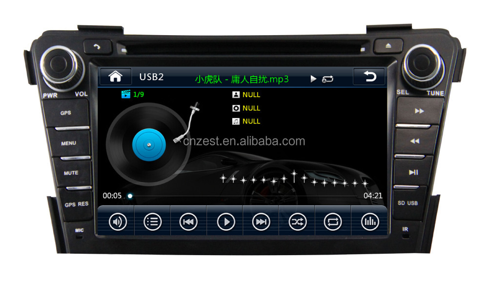 BUILT-IN CAR GPS NAVIGATION SYSTEM For Hyundai IX40 car dvd gps WITH USB port and SD slot,support mp3 player