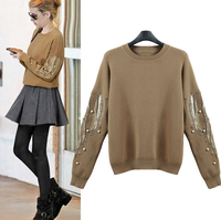 W70960G 2015 pullover cashmere wool women sweater designs for ladies european style clothing