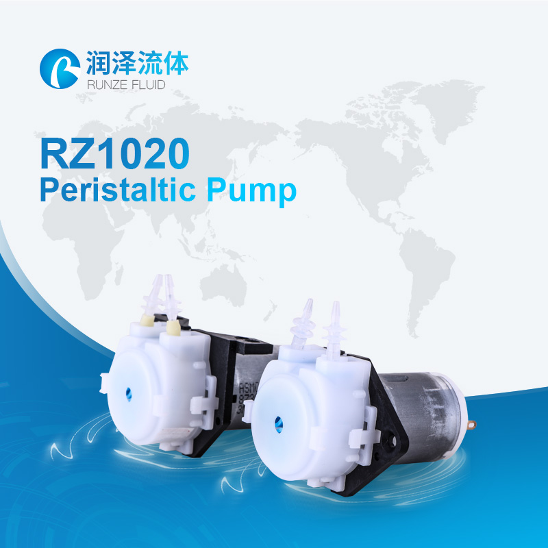 pulp and paper plant 12v micro peristaltic pump