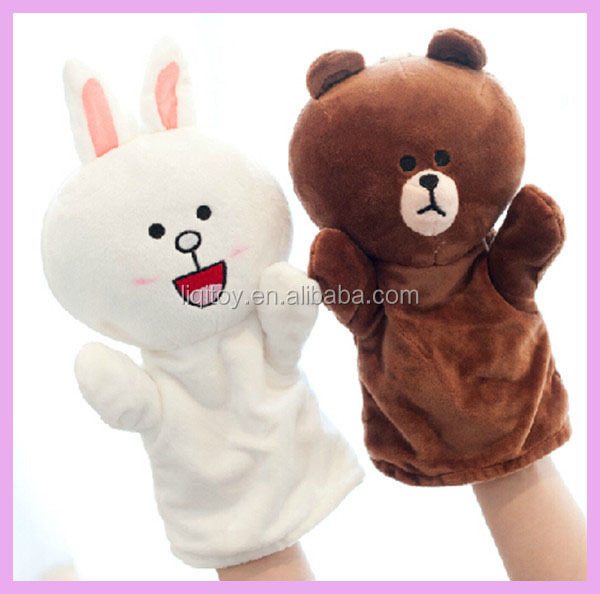 customPlush Animals Gloves Soft plush Winter Gloves