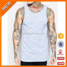 Sexy men design your own muscle tee for adult tank top heathered tank top hot selling tank top vest
