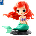 Custom 3D mermaid pvc figure ,OEM cartoon girl custom pvc figure, Edition limited 4inch 3D printing pvc figures factory