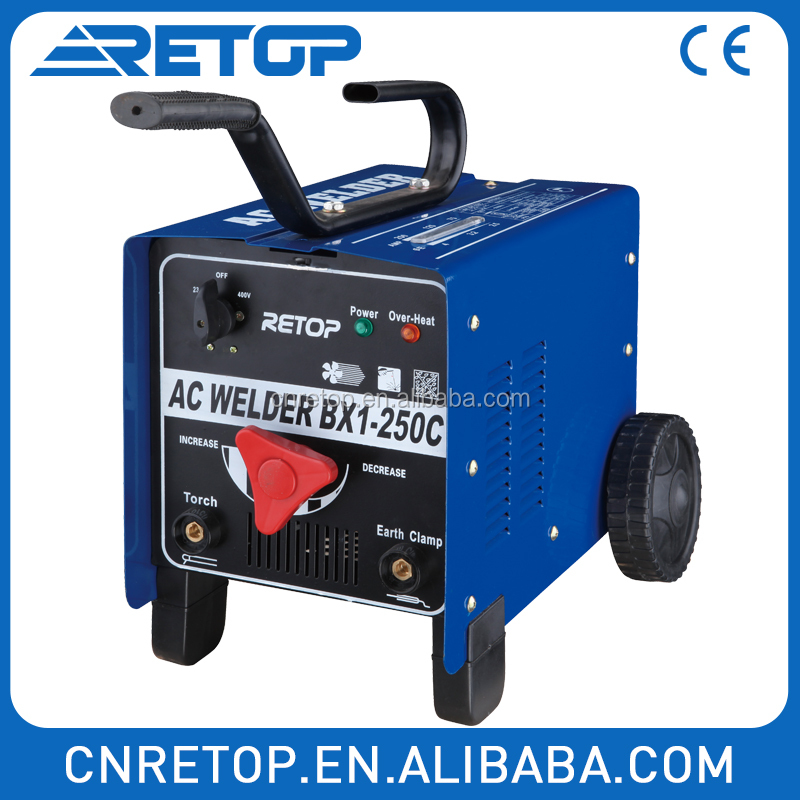 BX1180C single phase three phase portable high quality arc welder AC weld welding machine