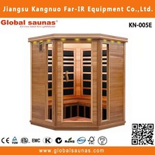 5 person Luxury infrared home saunas for sale carbon heater wellness products KN-005E