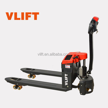 1.5 Ton Mini Electric Pallet Truck Electric Pallet Trolley