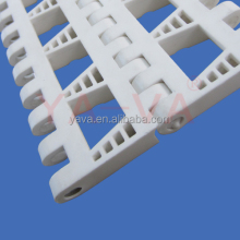 Vegetable Washing Plastic Flush Grid Modular Belt Pitch 50.8mm