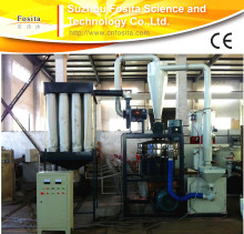 lifelong free technical support plastic grinding mill plant