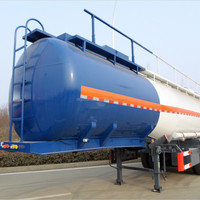 Tri Axle Tank Semitrailer For Transporting