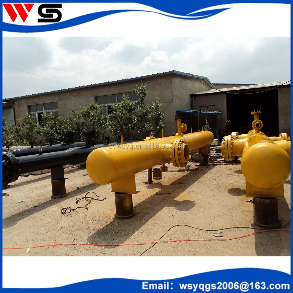 Custom Q345R steel pressure vessel collect gas distributor