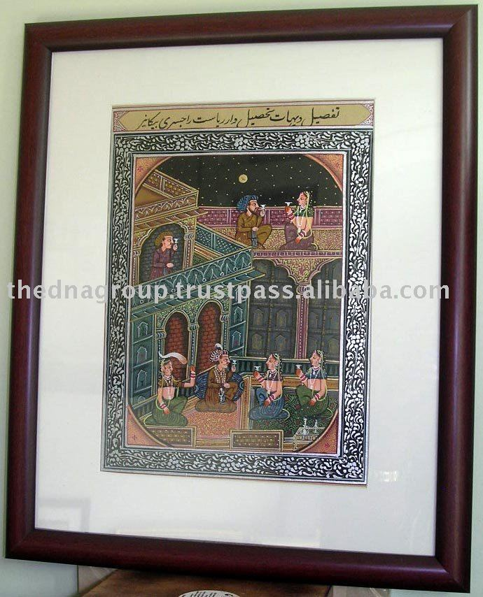 Art /Famous/Traditional/Watercolor Indian Paintings-A