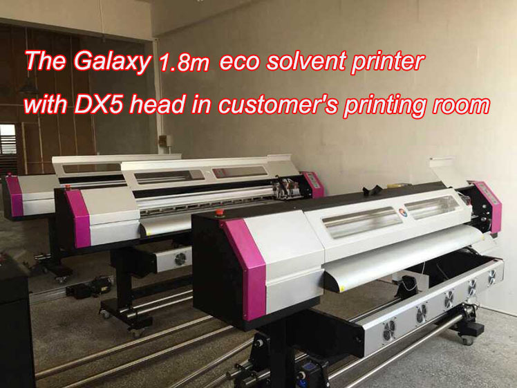 High resolution best Galaxy ud1612lc digital printer prices equipped with double dx5 f186000 print head