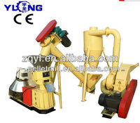 Mobile wood pellet machine/sawdust pellet machine